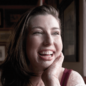 Catrin Pugh smiling at the camera