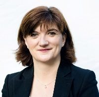 The Former Secretary of State for Education and Minister for Women and Equalities Nicky Morgan MP