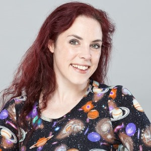 Dr kat Arney looking at the camera