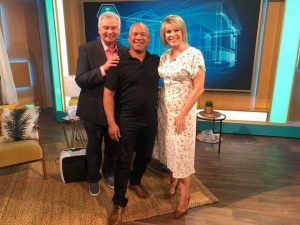 Michael Fraser on This Morning with Eamonn and Ruth